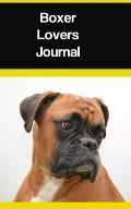 Boxer Lovers Journal