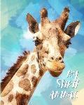 My Spirit Animal: Giraffe - Lined Notebook, Diary, Track, Log & Journal - Cute Gift for Boys, Girls, Teens, Men, Women Who Love Giraffes