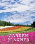 Garden Planner: Garden Book Daily Tasks Notebook Gardening Lover Journal Personal Garden Record Log Book 8x10 Inches 120 pages