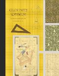 Graph Paper Notebook: Grid Paper Notebook, Squared Graphing Paper * Blank Quad Ruled * Large (8.5 x 11) * Egg Yolk