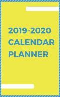 2019-2020 Calendar Planner: Two Year Monthly Planner 24 Month Calendar Book Academic Agenda Schedule Organizer 5x8 Inch Notebook (Volume 3)