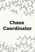 Chaos Coordinator: Stylish wedding planner notebook & journal for the Bride. Makes a great bridal gift.