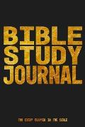 Bible Study Journal for every Chapter in the Bible: 6x9 Studying Notebook for your Daily Quiet and Devotional Time I With Checklist I Perfect for Read