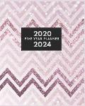 Five Year Planner 2020-2024: 60 Months Planner and Calendar, Monthly Calendar Planner, Journal, Notebook, 5 year 2020-2024 Monthly Planner Business
