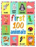First 100 Animals: Simple First Words Let's Talk