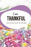 I am thankful for the blessings of this day: Wellness Planner, 5 Minutes Morning to Win the Day Gratitude Journal, Daily Routine Self Care Diary for H