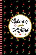 Charming and Delightful: Smashing Planner - Undated Planner - Start Anytime