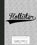 College Ruled Line Paper: HOLLISTER Notebook