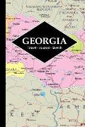 Georgia Travel Journal: Write and Sketch Your Georgia Travels, Adventures and Memories