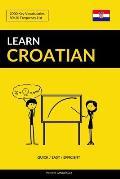 Learn Croatian - Quick / Easy / Efficient: 2000 Key Vocabularies