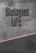 Biologist Life: Personalized Journal, Notebook Lined Pages 120 Pages 6x9