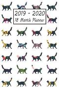 2019 - 2020 18 Month Planner: Cat Weekly and Monthly Planner July 2019 - December 2020: 18 Month Agenda - Calendar, Organizer, Notes, Goals & to Do