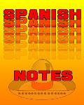 Spanish Notes: Spanish Journal, 8x10 Composition Book, Back To School Notebook, Spanish Language Student Gift