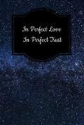 In Perfect Love in Perfect Trust: Tarot Diary Log Book, Record and Interpret Readings, 3 Tarot Card Spread Journal