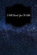 I Will Read You to Filth: Tarot Diary Log Book, Record and Interpret Readings, 3 Tarot Card Spread Journal
