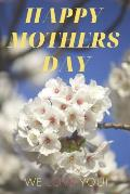 Mothers Day notebook journal: A notebook journal with lilac flowers decorated cover