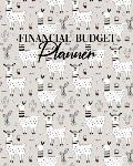 Financial Budget Planner: Weekly Organizer Monthly Expense Tracker Finance Ledger Notebook Daily Debt Management Llama Cactus Pattern Cover