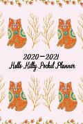 2020-2021 Hello Kitty Pocket Planner: 2-Year Monthly Calendar Planner See It Bigger and Plan Ahead Goal and Productivity Planner Action Plan, Time Man