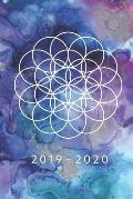 2019 - 2020: Weekly Planner Starting May 2019 - Dec 2020 6 x 9 Dated Agenda Appointment Calendar Organizer Book Soft-Cover Flower o