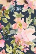 Notebook: Beautiful Floral Journal To Write In