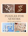 Puzzles For Seniors With Dementia: Ultimate Crosswords, Adult Activity Word search books, Word Search Puzzle For Adults and Kids (Little Activity Book