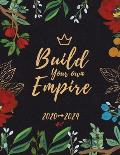 Build Your Own Empire: Five Year Planner Monthly Schedule Organizer and 5 Year Calendar with Holidays
