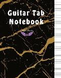 Guitar Tab Notebook: A Large Size 8.5x11 with Blank Sheet 160 Pages for Guitar Players, Musicians, Teachers and Students, 6 Treble Clef & G