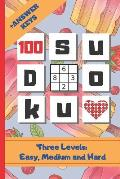 Sudoku: 6 X 9 SUDOKU PUZZLE BOOK WITH ANSWER KEYS INCLUDED. Three Levels: Easy, Medium and Hard. HUNDREDS OF HOURS OF FUN. E