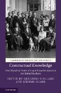 Contractual Knowledge