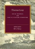 Thomas Gray: Ode on the Spring and Elegy in a Country Churchyard