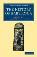 The History of Babylonia