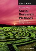 Introducing Social Research Getting The Edge In Research Methods