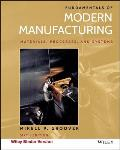 Fundamentals Of Modern Manufacturing Sixth Edition Binder Ready Version