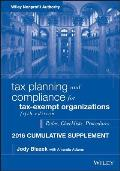 Tax Planning and Compliance for Tax-Exempt Organizations 2016 Cumulative Supplement