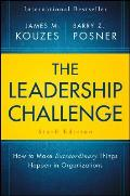 Leadership Challenge How To Make Extraordinary Things Happen In Organizations 6th Edition