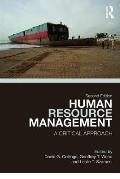 Human Resource Management: A Critical Approach