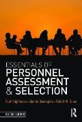 Essentials Of Personnel Assessment & Selection