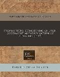 Propositions Concerning Church Goverment and Ordination of Ministers (1647)