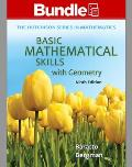 Loose Leaf Basic Mathematical Skills with Geometry, with Aleks 360 18 Weeks Access Card