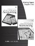 Working Papers For Warren Reeve Duchacs Corporate Financial Accounting 14th