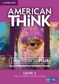 American Think Level 2 Presentation Plus DVD-ROM