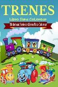 Trenes Libro Para Colorear