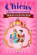 Chicas Libro Para Colorear