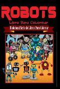 Robots Libro Para Colorear