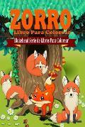 Zorro Libro Para Colorear