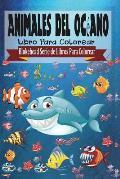 Animales del Oceano Libro Para Colorear