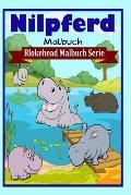 Nilpferd Malbuch