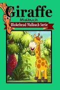 Giraffe Malbuch