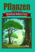 Pflanzen Malbuch