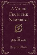 A Voice from the Newsboys (Classic Reprint)